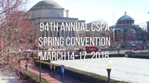 The Feather Staff at CSPA's 94th Convention Create Convention Recap
